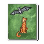 Cat and Bat Mousepad