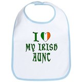 I Love My Irish Aunt Bib