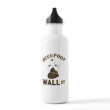 Occupoop Wall Street Water Bottle