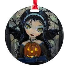 October Woods Halloween Vampire Ornament