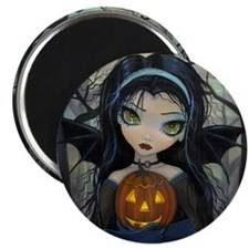 October Woods Halloween Vampire Magnet