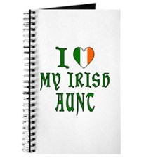 I Love My Irish Aunt Journal
