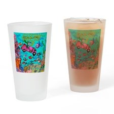 8639_GPS_cartoon Drinking Glass