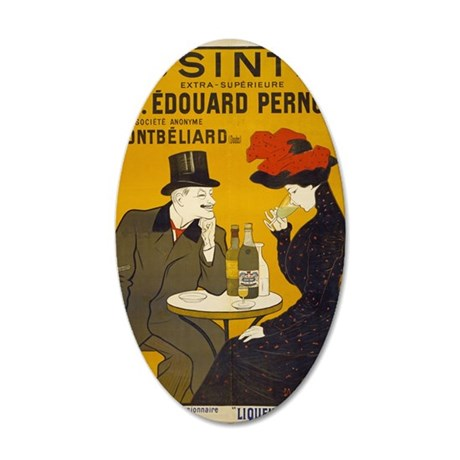 absinthe-pernot 35x21 Oval Wall Decal