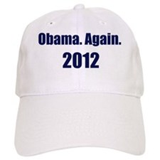 Obama_again_2012_10x10 Baseball Cap