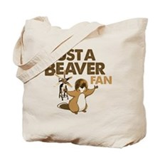 Justa Beaver Fan Tote Bag
