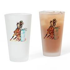 71x72_barrelracer Drinking Glass