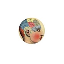 phrenologyhead Mini Button