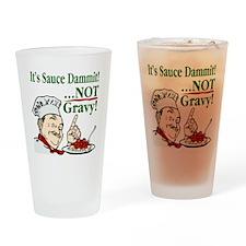 ItsSauce-Dammit Drinking Glass