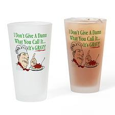 ItsGravy-Dammit-Drk Drinking Glass