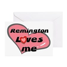 remington loves me  Greeting Cards (Pk of 10)