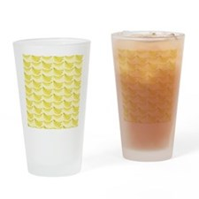 Banana FlipFlops Drinking Glass