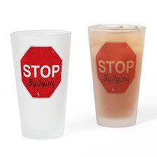 Stop_Bullying Drinking Glass