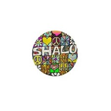 Retro60sShalom Mini Button