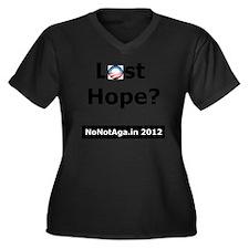 losthopeV2 Women's Plus Size Dark V-Neck T-Shirt