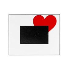 Heart To Fart White Picture Frame