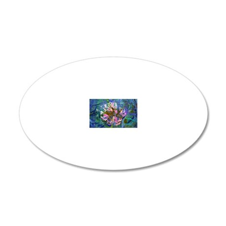 Coin Monet Detail 20x12 Oval Wall Decal