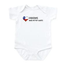 Chile - better lovers Infant Bodysuit