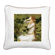 Ophelia Square Canvas Pillow