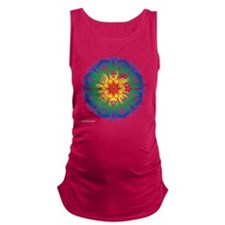 Religions_Mandala_10x10_apparel Maternity Tank Top