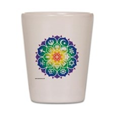 Religions_Mandala_10x10_apparel Shot Glass