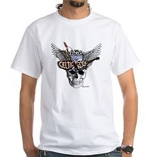 Celtic Rock White Shirt