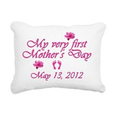 mothers day first2012 pi Rectangular Canvas Pillow