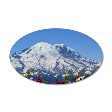 Mt Rainier Wall Decal