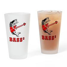bass 2 Drinking Glass