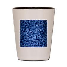 royal-blue-shag-carpeting-texture Shot Glass