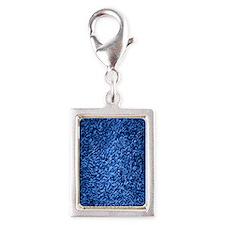 royal-blue-shag-carpeting-te Silver Portrait Charm