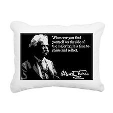 89MarkTwain Rectangular Canvas Pillow