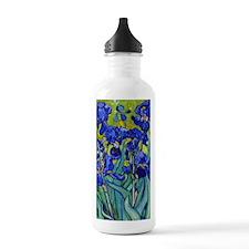 441 VG Irises89 Water Bottle