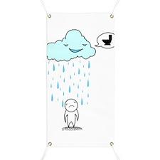 Piss rain Banner
