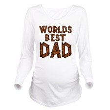 worldsbestdad Long Sleeve Maternity T-Shirt