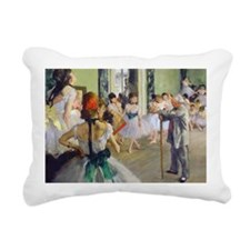 Bag Degas DanceClass Rectangular Canvas Pillow