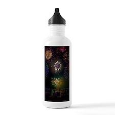 July 4th Fireworks Water Bottle