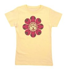 Peace Flower - Affection Girl's Tee