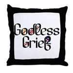 Godless Grief Throw Pillow