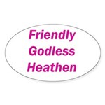 Charming Heathen Sticker