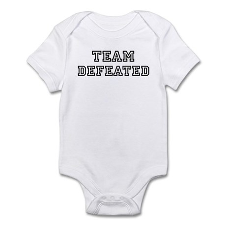 Team DEFEATED Infant Bodysuit