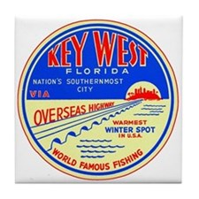 $9.99 Key West, Florida Tile Coaster
