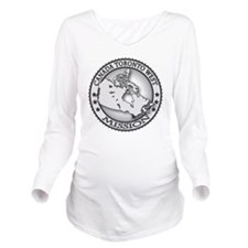 Canada Toronto West  Long Sleeve Maternity T-Shirt