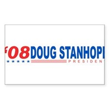 Doug Stanhope 2008 Rectangle Decal