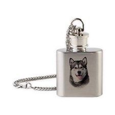 portrait1b Flask Necklace