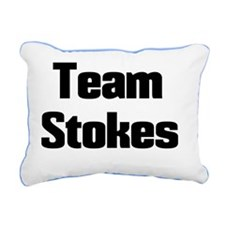 Team Stokes-1 Rectangular Canvas Pillow