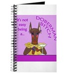 Red Doberman Bitch Journal