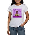 Red Doberman Bitch Women's T-Shirt