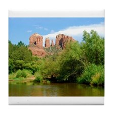Castle Rock at Sedona Tile Coaster
