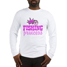 fishing princess Long Sleeve T-Shirt
